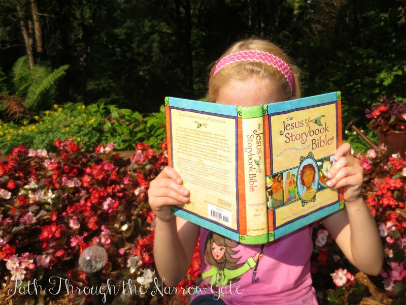 The Jesus Storybook Bible ties Old Testament stories to Jesus Christ, making Jesus the center of every story. This book brings Bible stories to life and is very readable and enjoyable for adults and children alike.