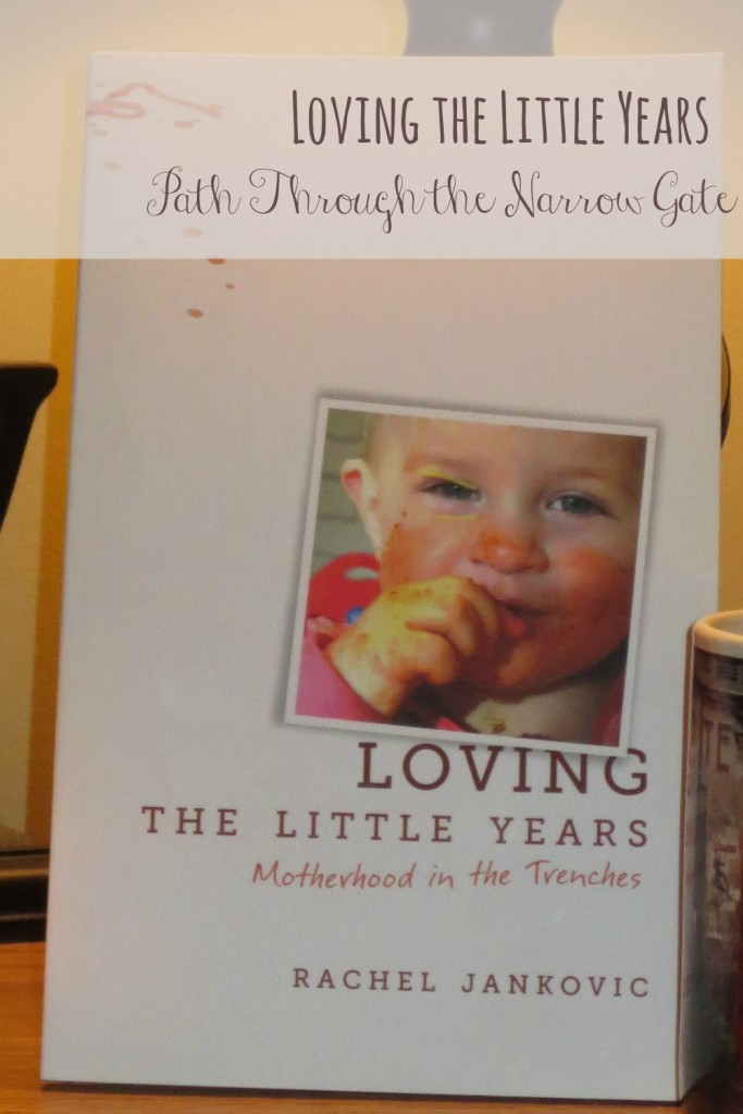 Reading Loving the Little Years is like going out for coffee with your best friend after a hard day when the kids have been difficult and you are exhausted and frustrated.