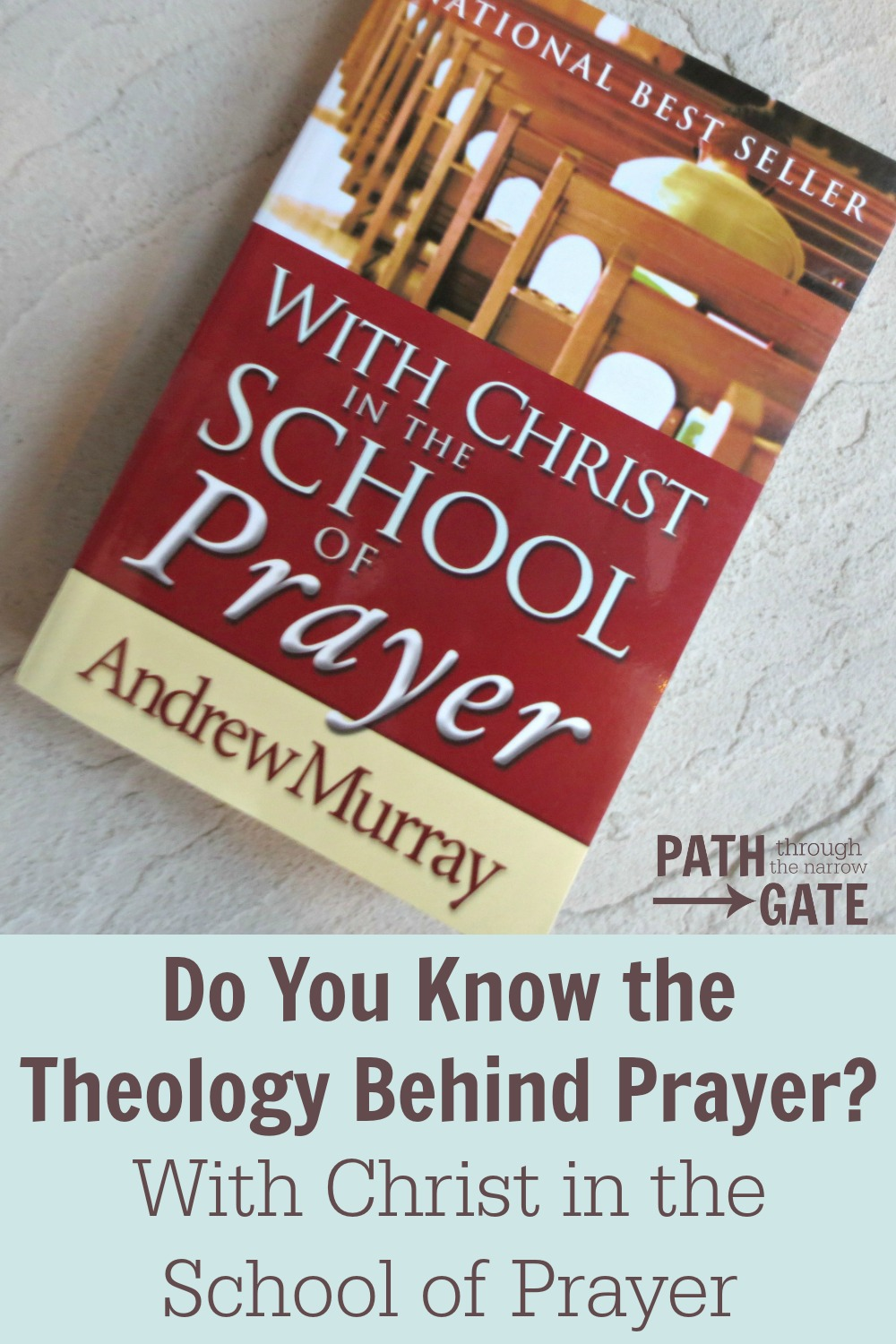 Would you like to learn more about prayer? With Christ in the School of Prayer will help you understand the purpose of prayer and how you can pray according to God's will.