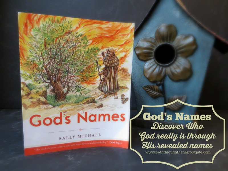 God's Names: Discover Who God really is through His revealed names. A great, Bible centered family devotional.