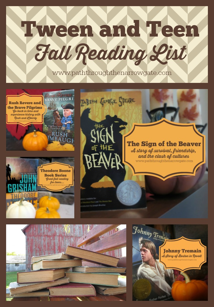Tween and Teen Fall Reading List: This is an awesome list of books for tweens and teens - I must check these out!