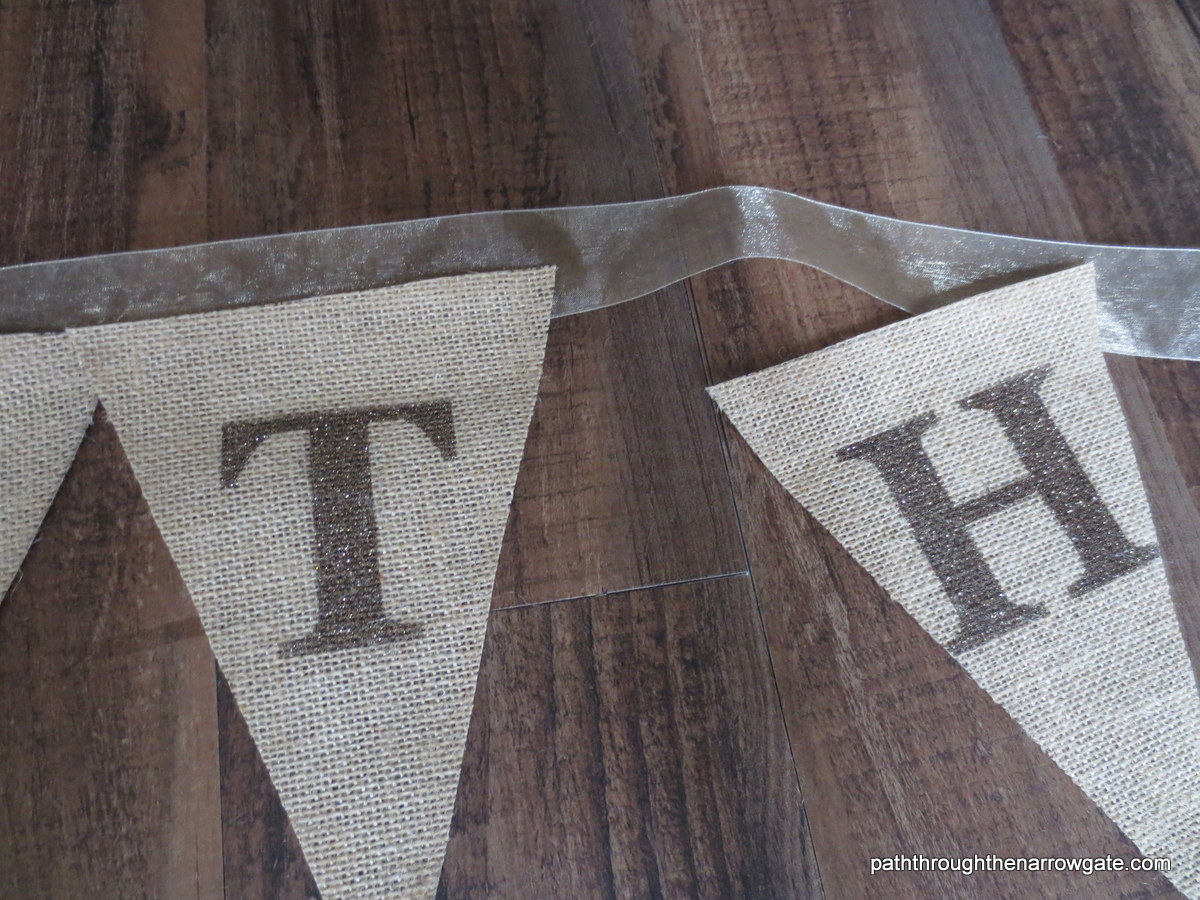 Burlap Thanksgiving Banner 14