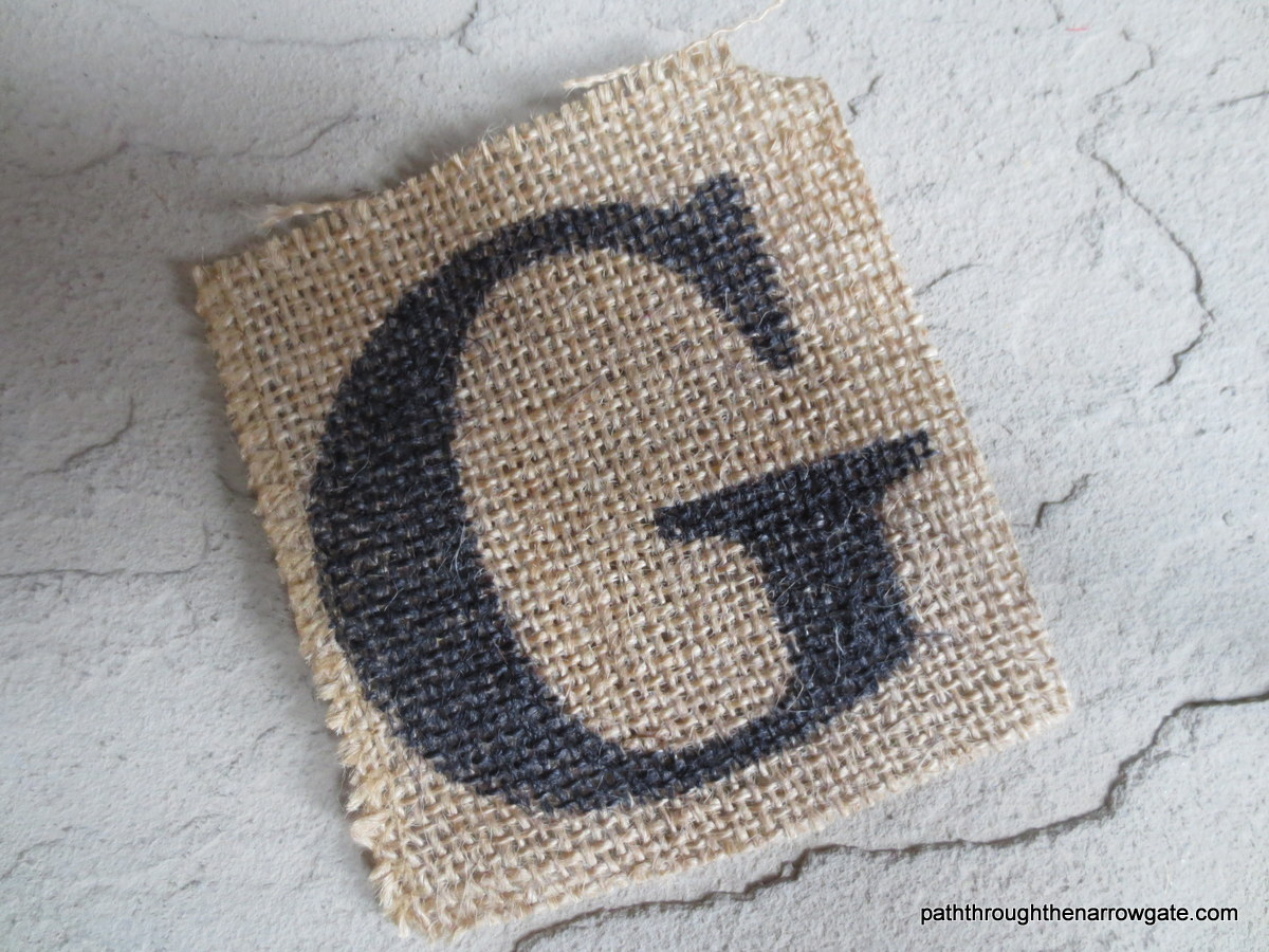 Burlap Thanksgiving Banner 10