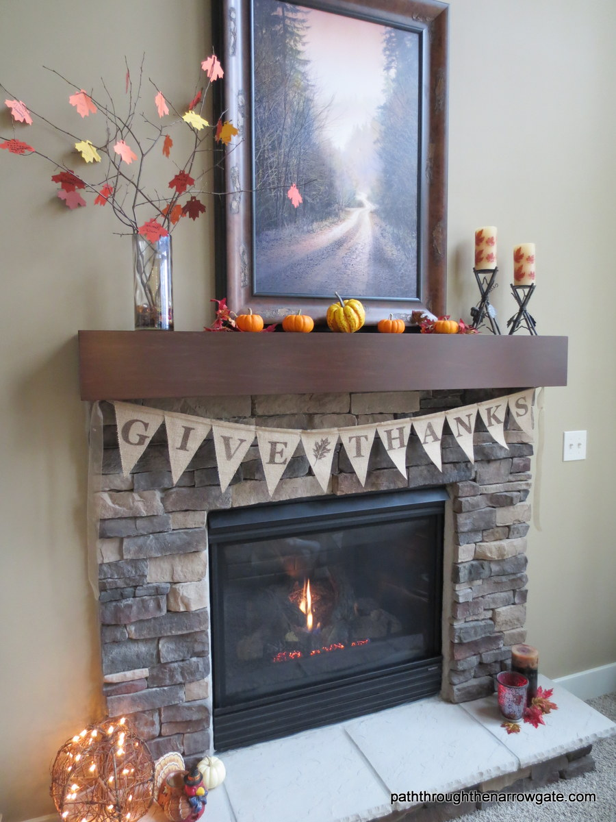 Burlap Thanksgiving Banner 15