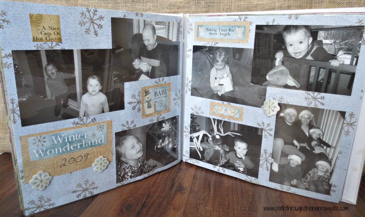 Inspiration and Tips for Making a Christmas Scrapbook, Brought to You From a Lazy Scrapbooker.