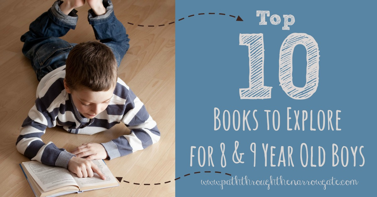 Are you looking for a book that will actually hold the interest of your eight or nine-year-old boy? Boys crave action, adventure, and heroes. Check out some of these amazing books for 8-9 year old boys today!