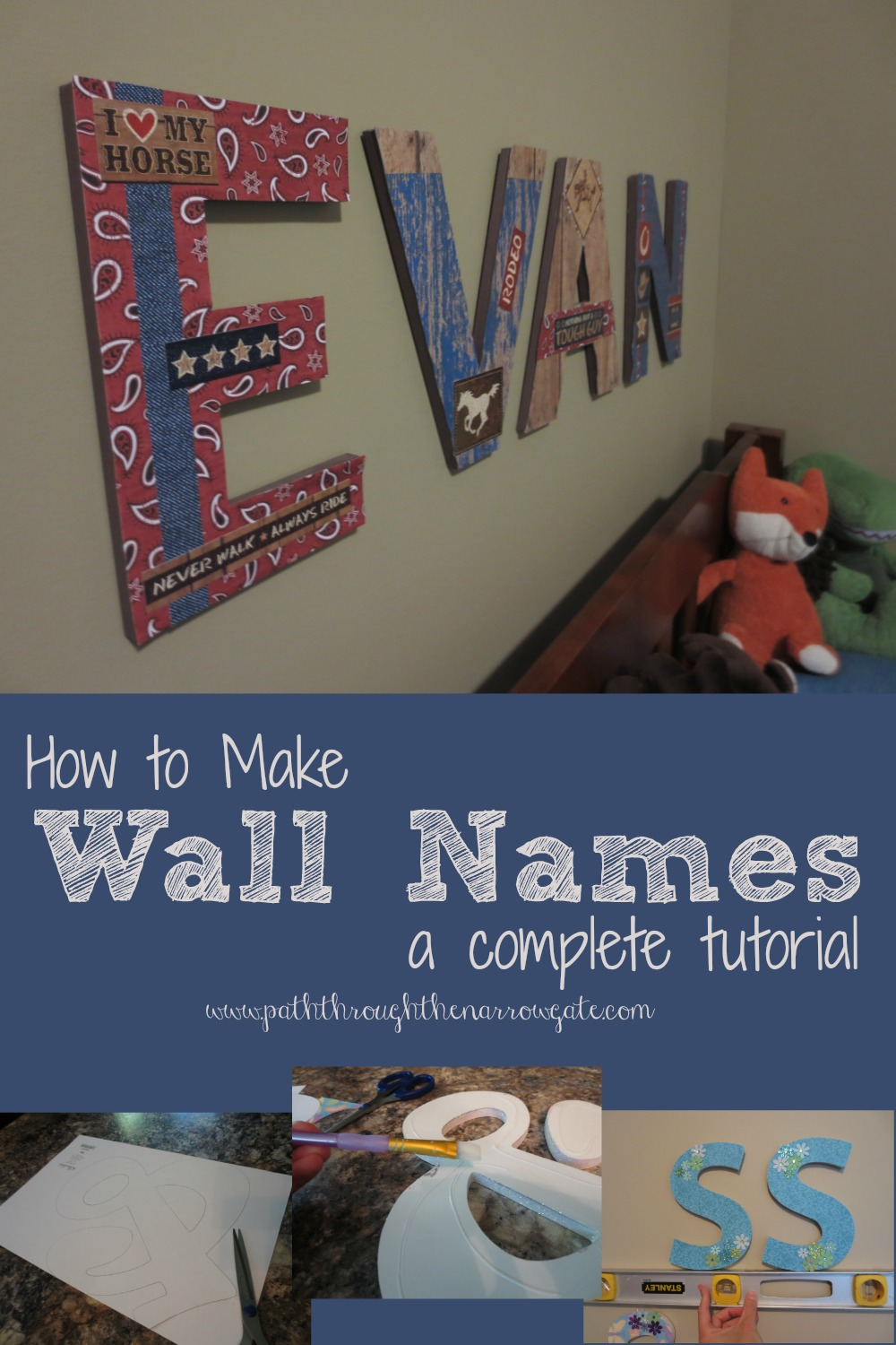 These wall letters would also be great for wedding shower, baby shower, or classroom decorations.
