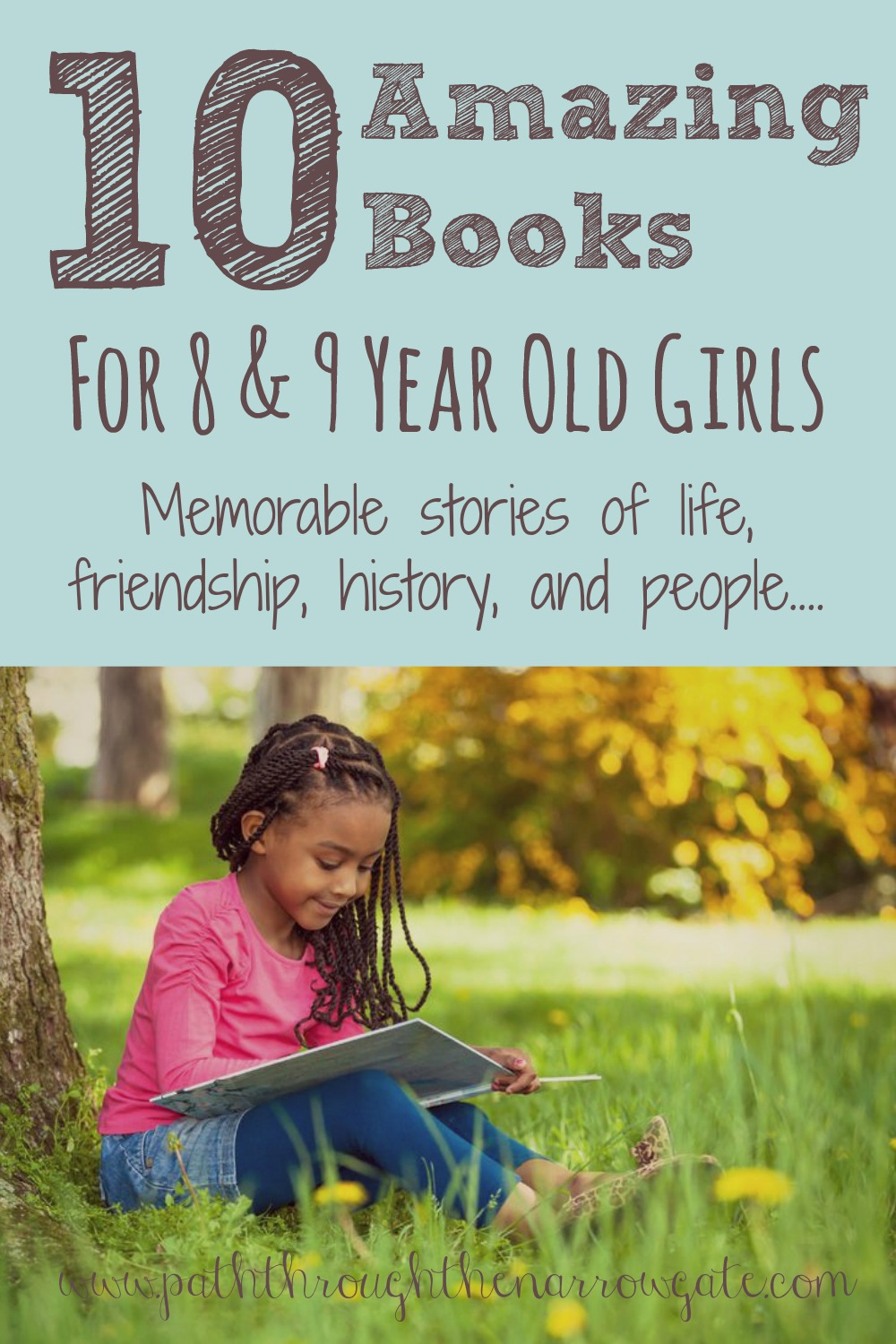Ten Delightful Books for 10-11 Year Old Girls - Path Through the ...