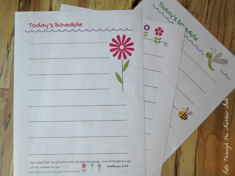 "Far from being restrictive, a time block schedule can breathe new life into your homeschool routine, giving you permission to have fun during your day but also keep your ""to do"" list realistic. Improve your schedule with these cute printables to keep you on track."