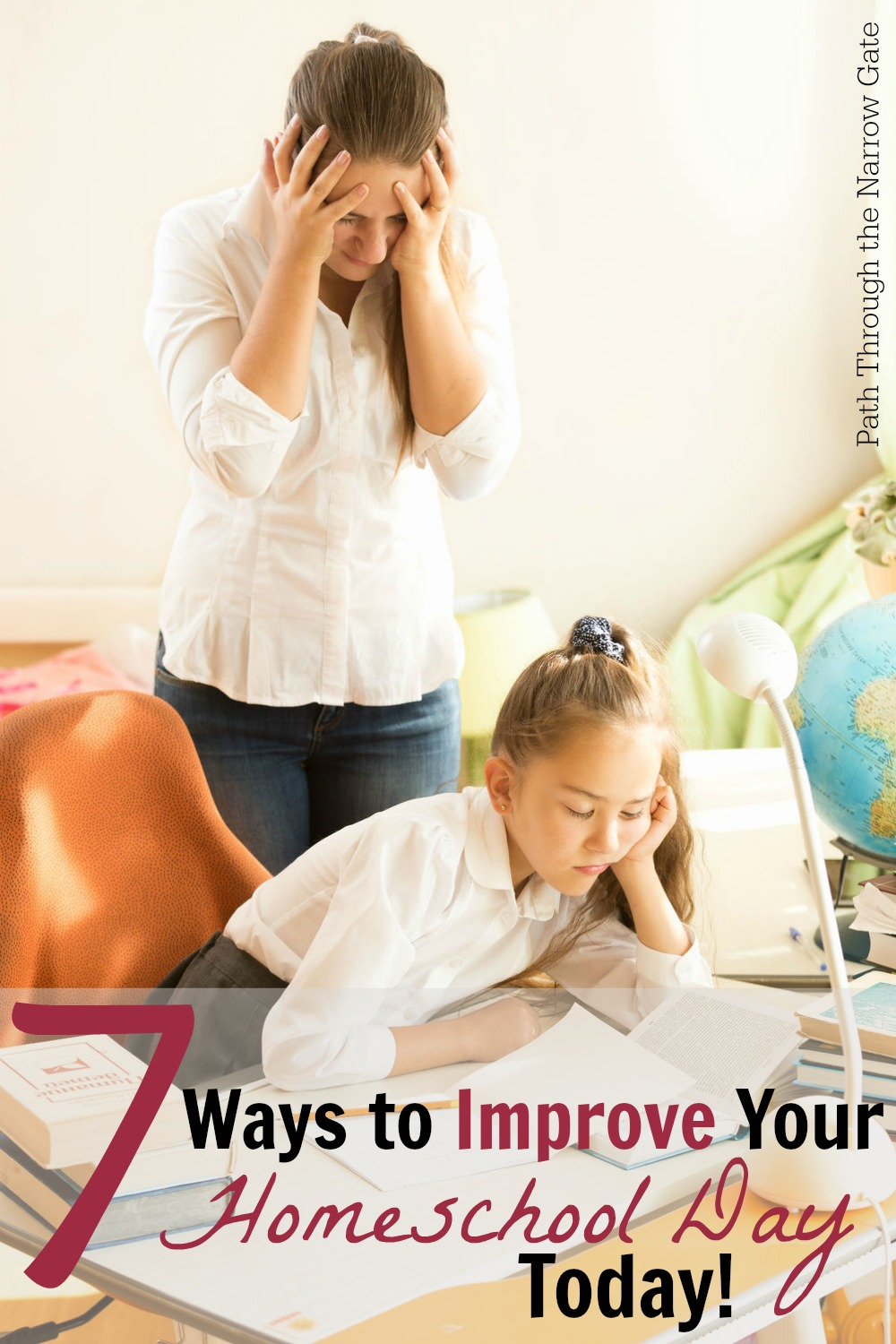 Are you suffering from homeschool fatigue? These seven habits will help you and your children stay focused when the year starts feeling long.
