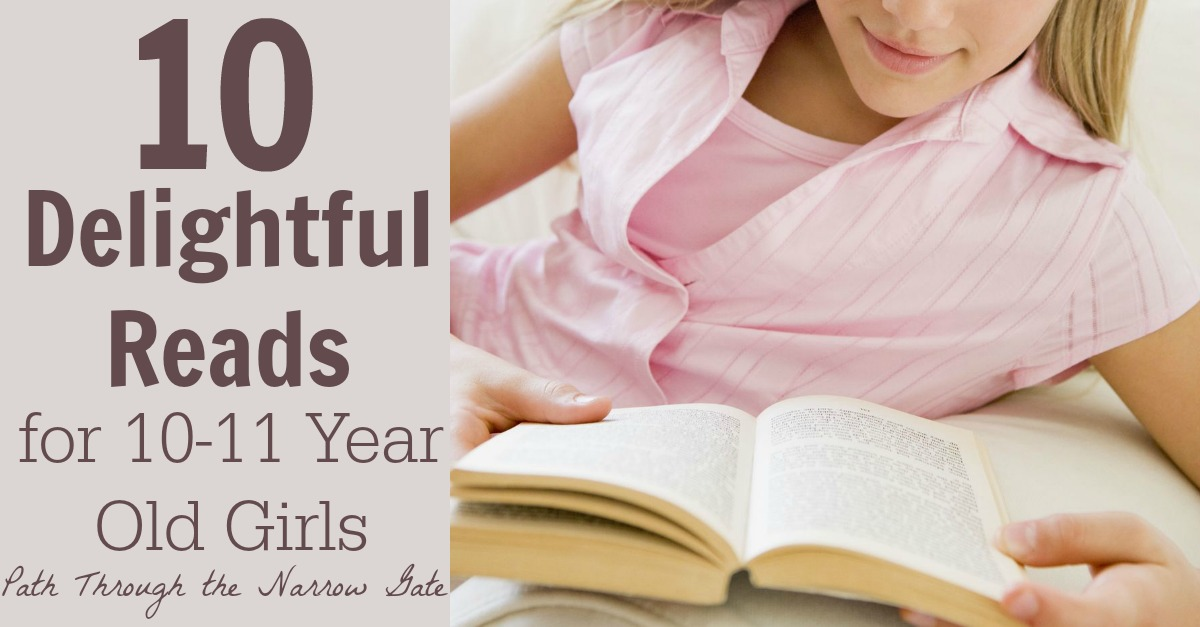 This list of books for 10-11 year old girls includes stories of strong, spunky, kind girls who will become fictional friends that your girl will cherish for years.