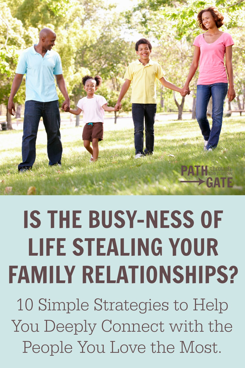 Free eBook! Your Road Map to Stronger Family Relationships