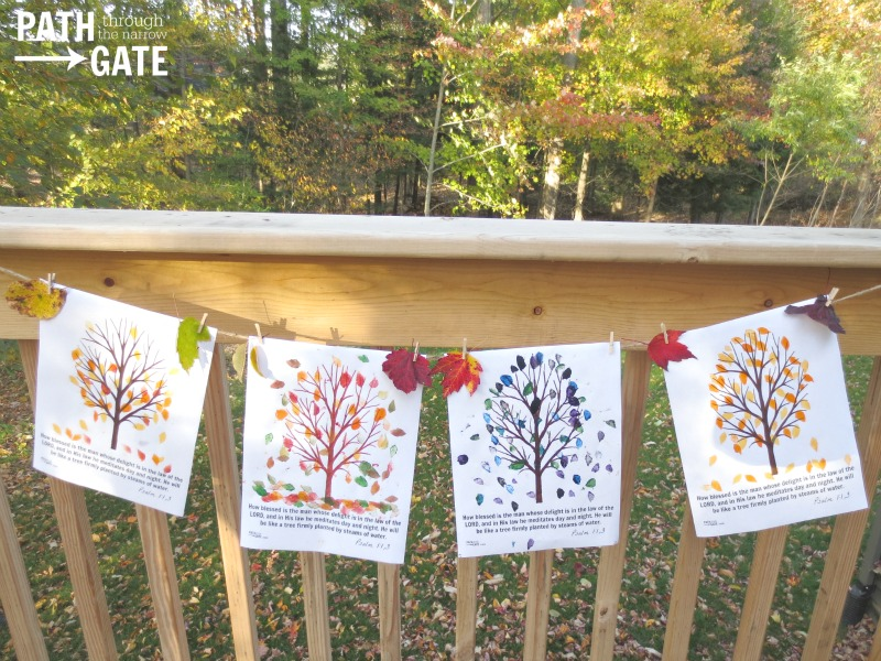 fall tree craft 10