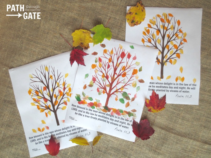 fall tree craft 11