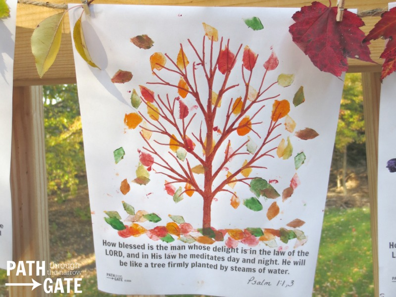 fall tree craft 8
