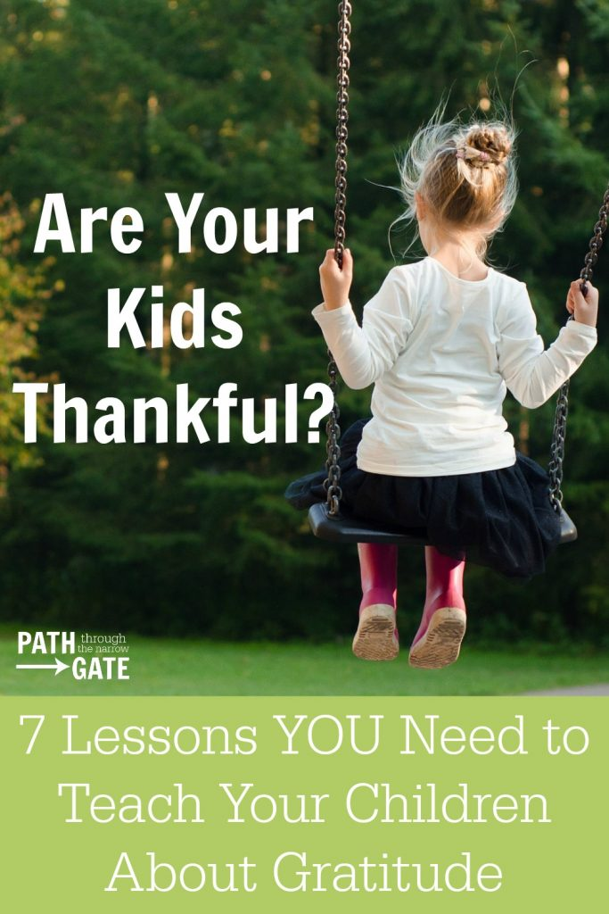 Teach your kids how to be thankful with these 7 practical tips, including how to say thank you and how to write thank you notes.
