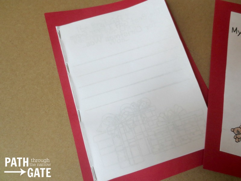 Christmas Notebook 3