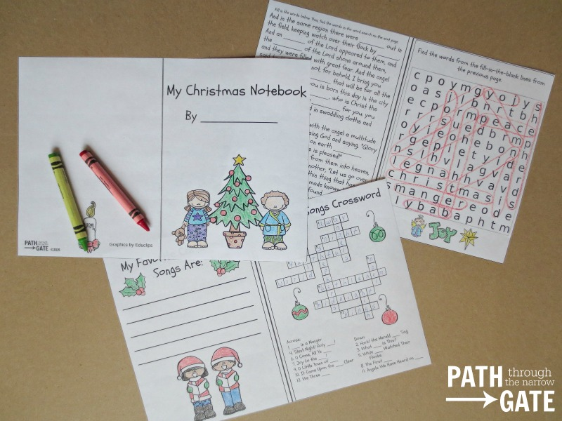 Christmas notebook 2
