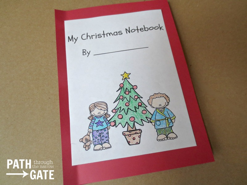 Christmas notebook 5