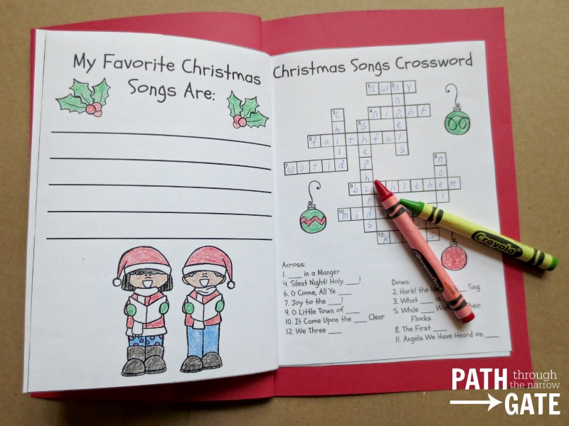 Christmas notebook 6