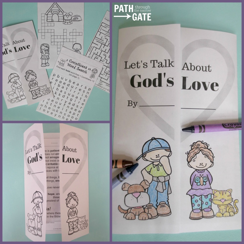 how to teach children about love languages craft