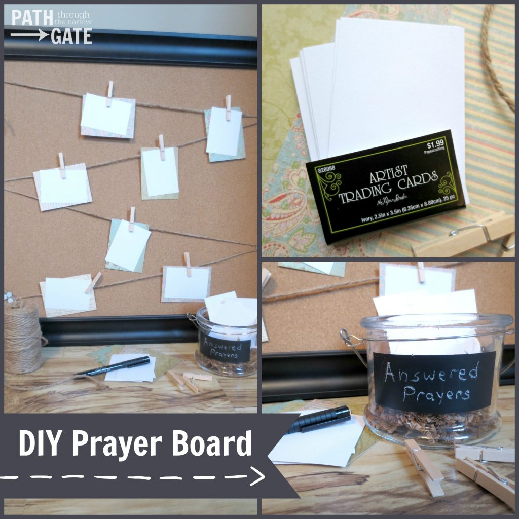 Prayer Board FB man