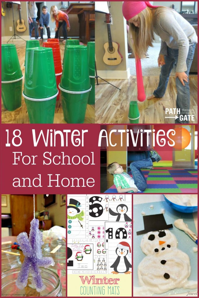 You don't have to dread the long winter months! Check out this list of fun winter activities including crafts, science, and active play ideas.