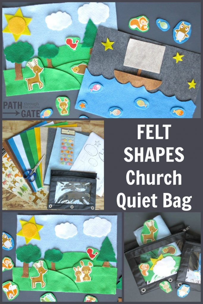 If you are looking for simple ways to keep toddlers quiet in public places, these Church Quiet Bags are the perfect solution! Best part? You can make them, stick them in a diaper bag or purse, and forget them until you need them.|Path Through the Narrow Gate