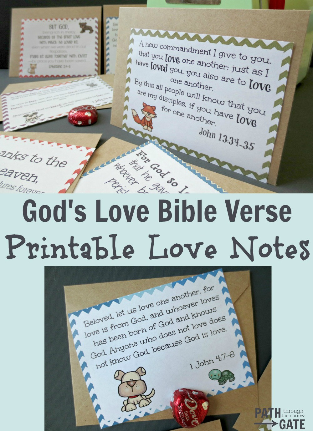 God's Love Note pop up image