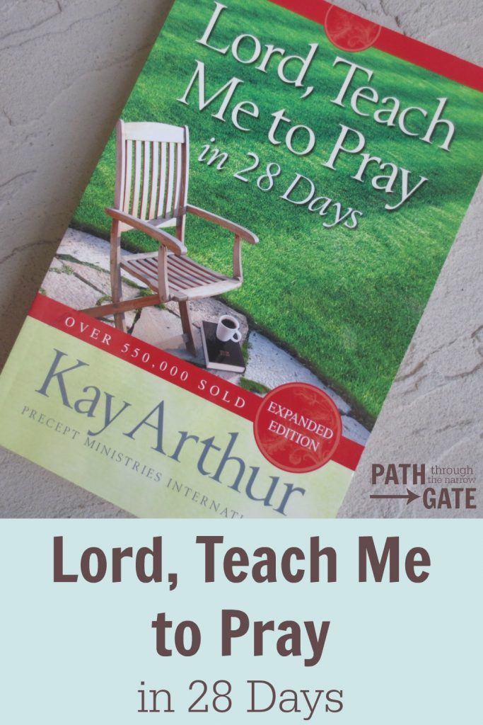 Lord Teach Me to Pray pin 1