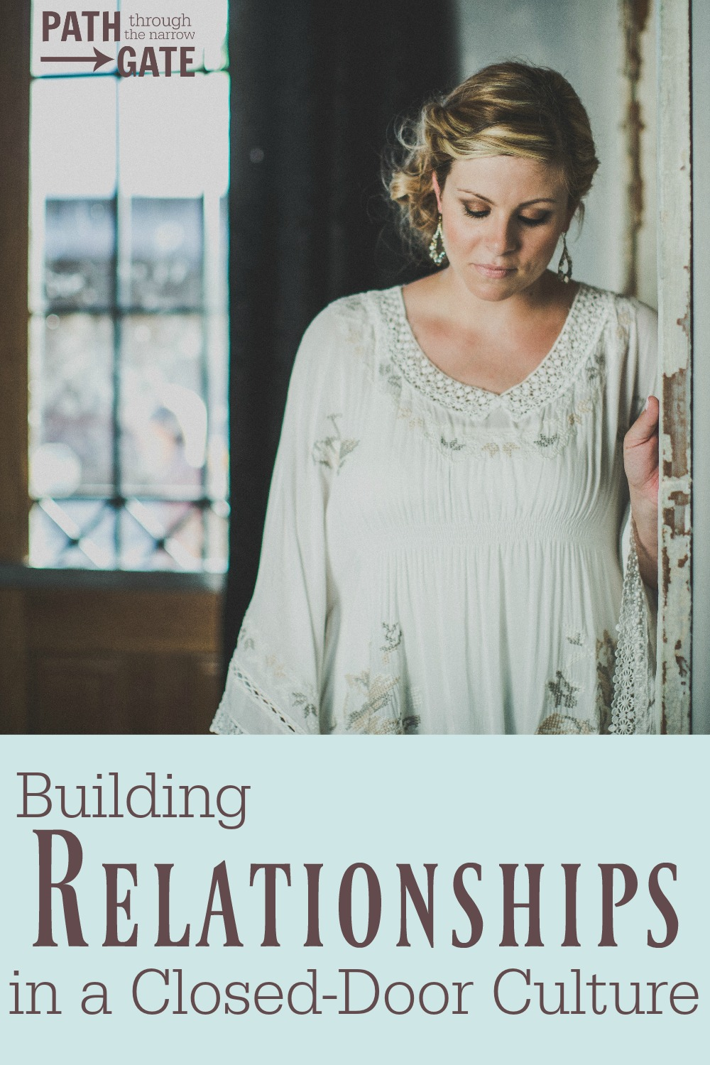 "Are you intentionally putting yourself ""out there"" to build relationships with your neighbors for the sake of sharing your faith? Here's some encouragement and ideas to help you do just that."