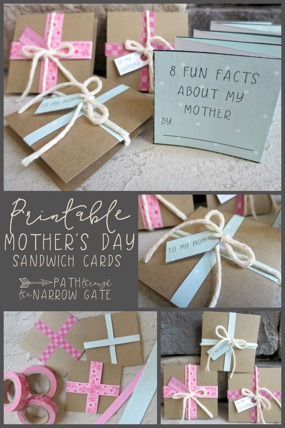 Looking for super-cute Mother's Day Cards, perfect for very young kids to make? If so, these adorable cards are the perfect solution!