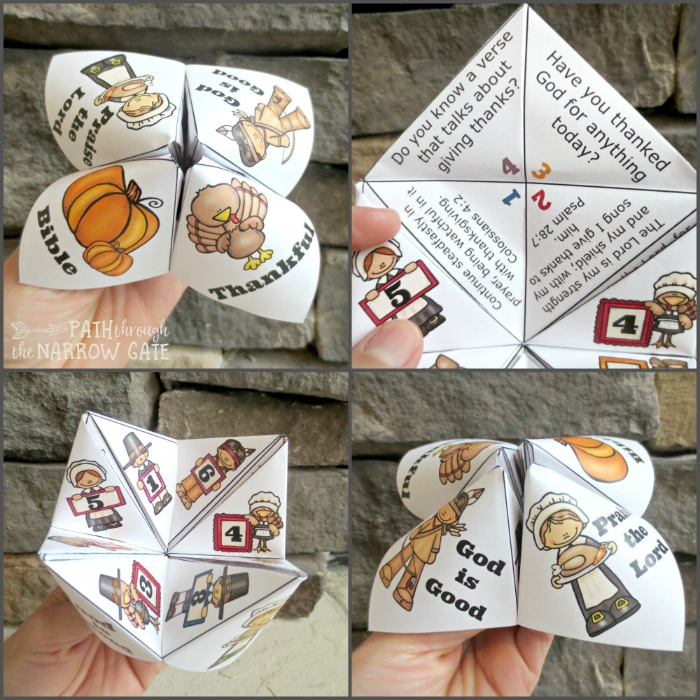 Featuring Bible verses and gratitude prompts, this Thanksgiving Finger Puzzle is a simple craft, perfect for home or classroom use.